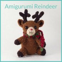 Amigurumi Reindeer -- FREE crochet pattern