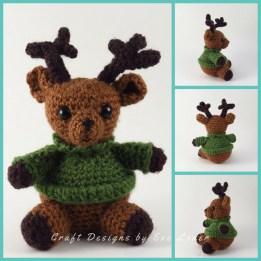 Amigurumi Reindeer — Free crochet pattern