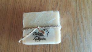 Alpaka Seife aus eigener Wolle herstellen lassen