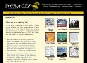 Old Freelance Website