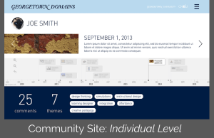 Community Site Georgetown Individual Level