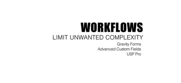 Workflows Slide