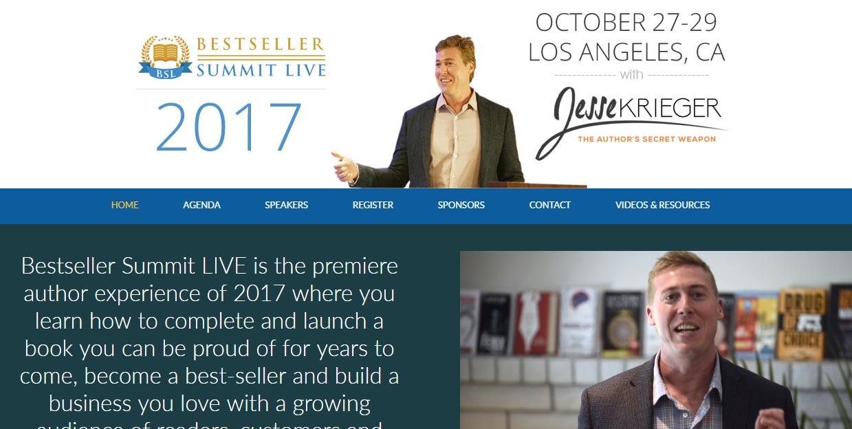 Bestseller Summit Live 2017 Overview