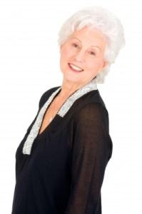 Elderly Woman Smile