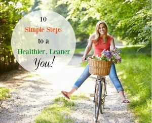 eBook Announcement | 10 Simple Steps to a Healthier, Slimmer You