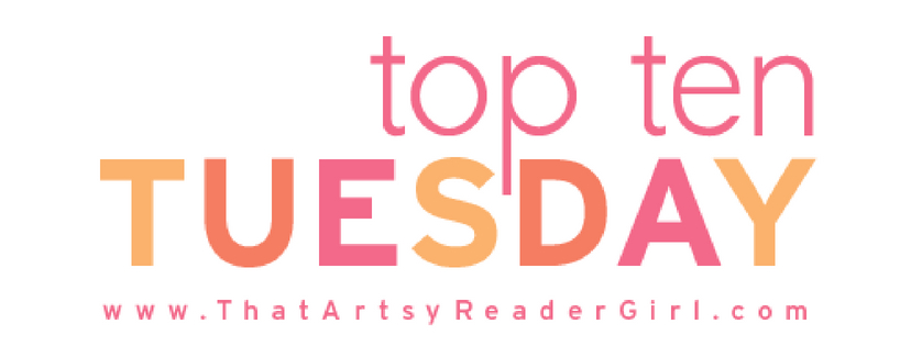 My first Top Ten Tuesday – books by my favourite authors that I still haven't read!