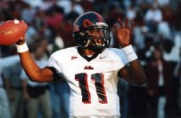 Former QB Romaro Miller finished his Ole Miss career as the school leader in passing yards and TD's. (Photo courtesy of Ole Miss Athletics)