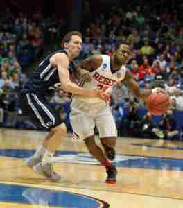 Jarvis Summers had a double-double against BYU. (Photo credit: Joshua McCoy, Ole Miss Athletics)
