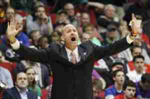 Andy Kennedy coached his team to a 62-point second half performance. (Photo credit: Skip Peterson, AP)