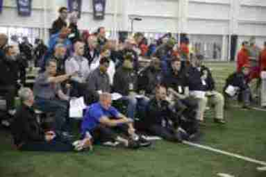scouts at pro day