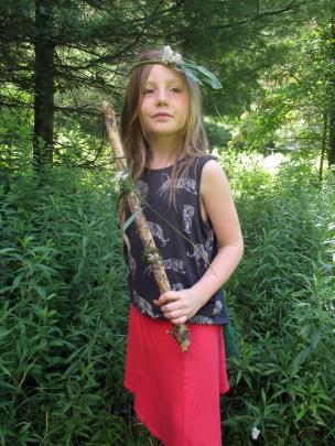 EarthWalk. Plainfield, Vermont. © Eve Bernhard. Summer 2015.