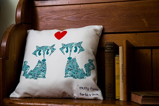 Bertie-and-Jack-Happy-Foxes-cushion1-min