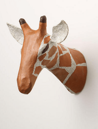 Savannah Story Bust, Giraffe- £58