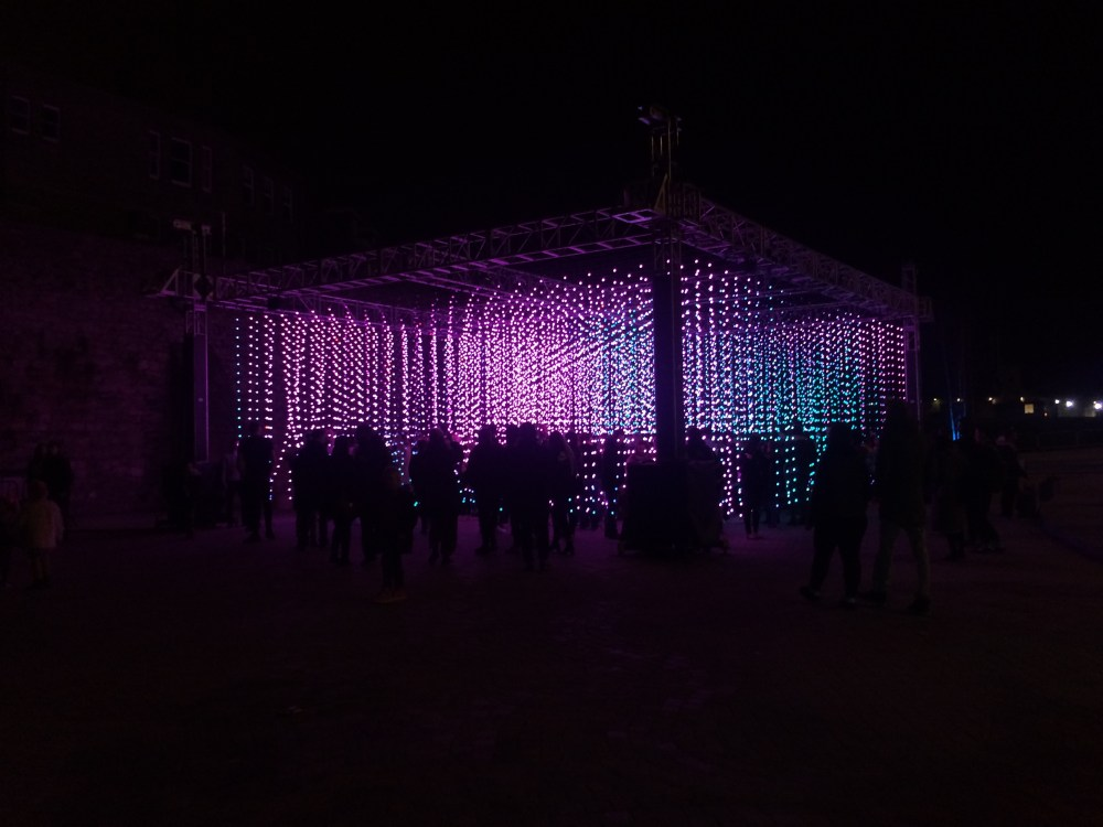 On the 19th February, I went down to West Quay shopping centre to see the Festival of Light. The show was used to promote the completion of the new leisure complex. Featuring projections, displays and illuminations, the light show attracted hundreds of visitors each day.