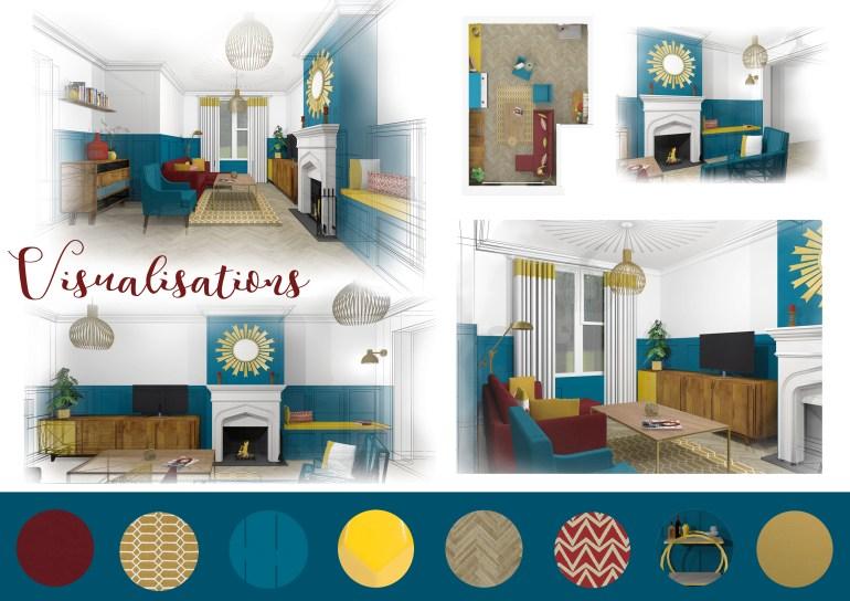 Domestic visuals board blog