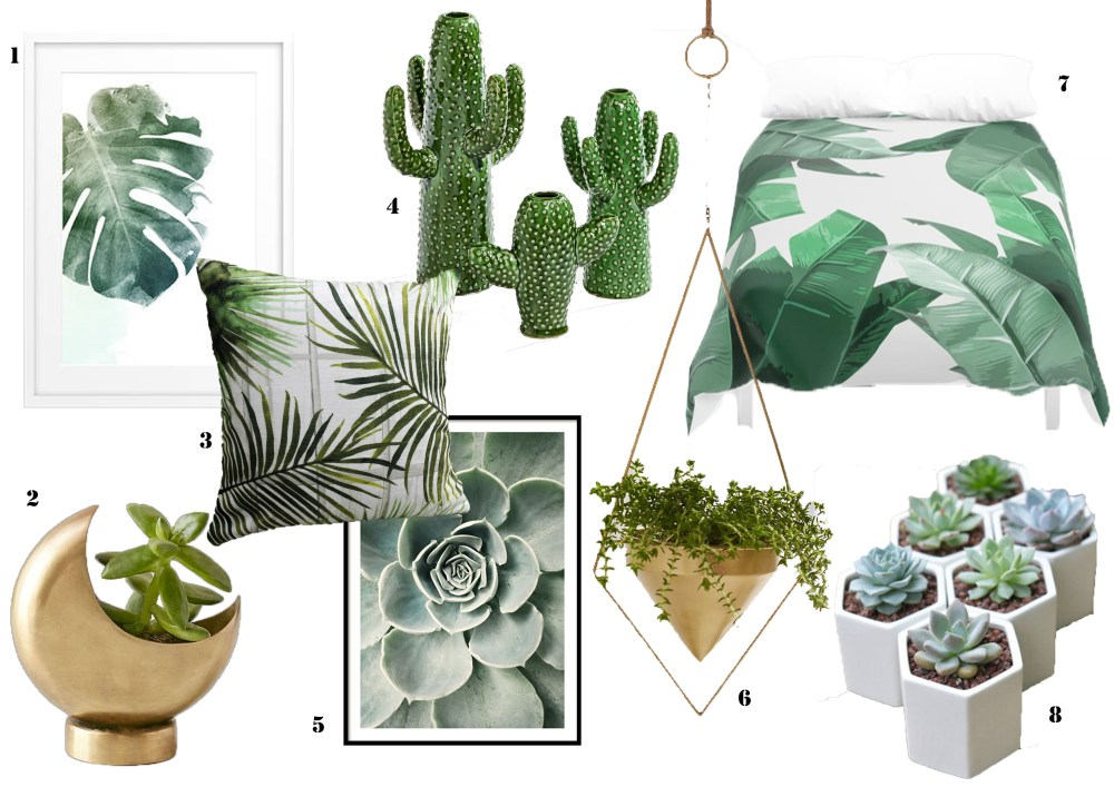 How long does it take for a trend to stop being a trend? Believe me, botanical interiors are here to stay!  You will have noticed the botanical trend burst onto the scene last year. If not, where have you been? The botanical trend is very versatile, it can be applied and adapted to suit any interior style. I focus on contemporary interiors, so I'll be giving you my top tips on how to create an awesome, modern botanical look.