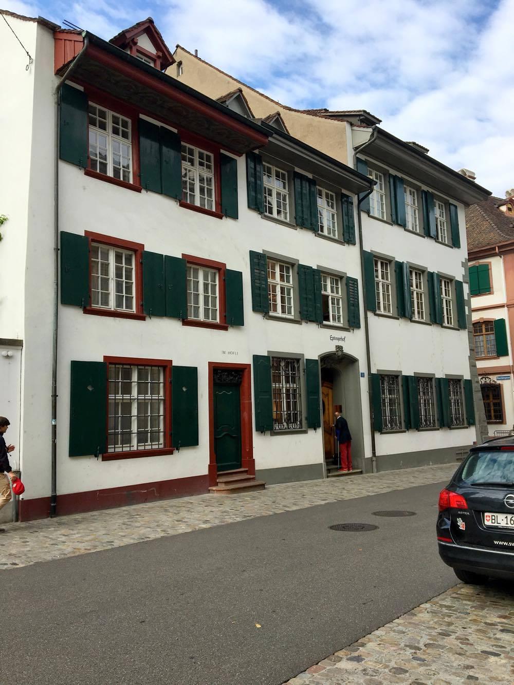 Basel houses 3