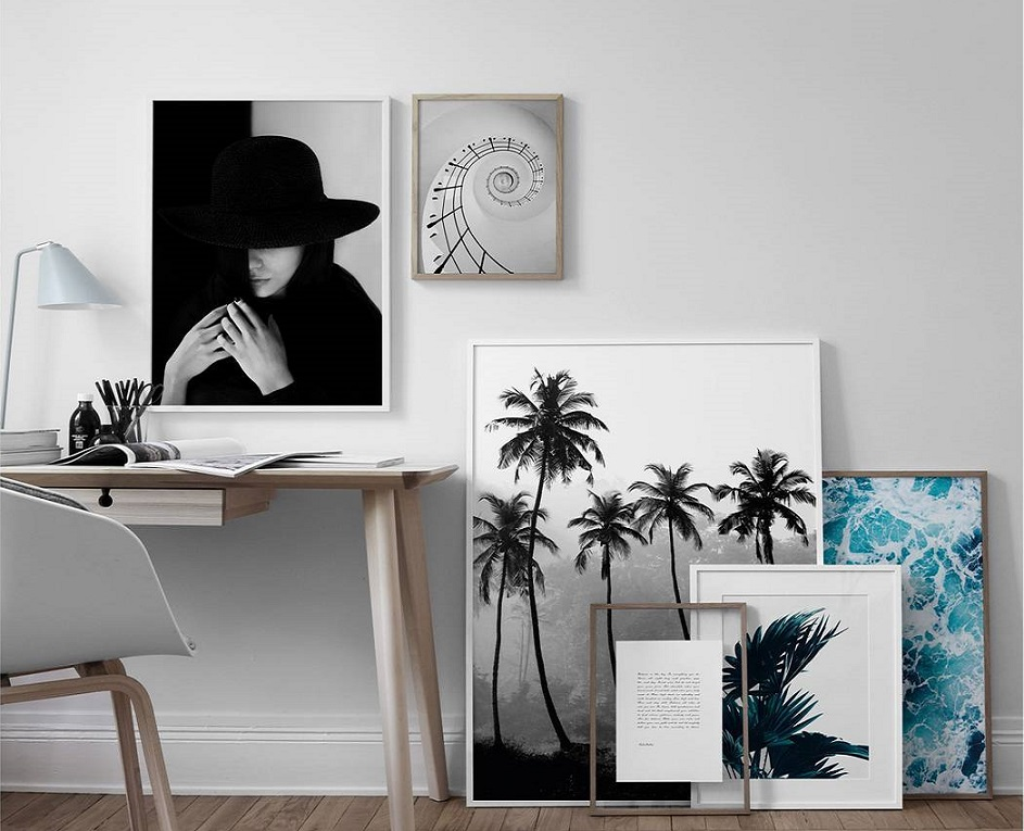 The artwork you put on your walls can make or break the space. Whether you want to create a statement in your living room or simply add some life to a  blank wall, artwork is a fun way to express yourself and showcase  your favourite pieces. Balance and symmetry are key to creating a collection that works. The possibilities are essentially endless when it comes to composition. But with some practice and a keen editorial eye, creating a stylish display of artwork wall is no trouble at all. Here are a few ideas to get you started: