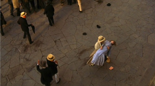lucy fainting in florence period films