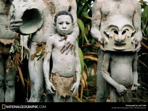 Asaro Mudmen, Papua New Guinea, 1998