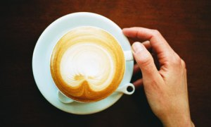 Cappuccino … 'There must be no chocolate on top.'