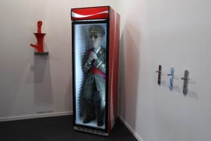 artwork-entitled-quotforever-francoquot-by-spanish-artist-eugenio-merino-seen-arco-art-fair