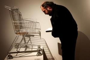 """Den Sessel """"consumer's chair"""" von Frank Schreiner (Stiletto) aus dem Jahr..."""