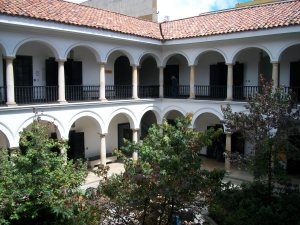 Patio_Museo_Botero_Bogota