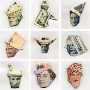 moneygami-faces