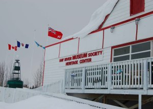 Angele Cano/NNSL photo The Hay River Heritage Centre will be open at the end of May with old and new programming.