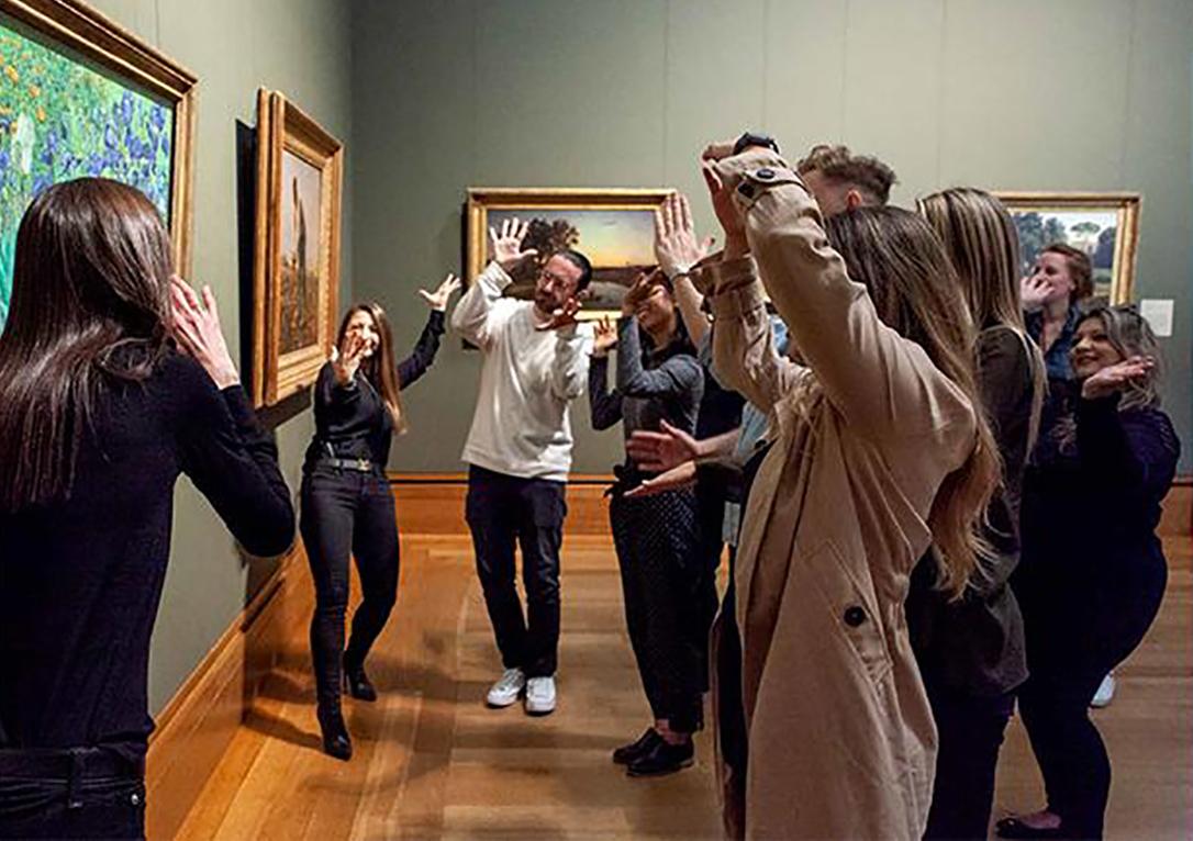 La Emoción en los Museos de Arte