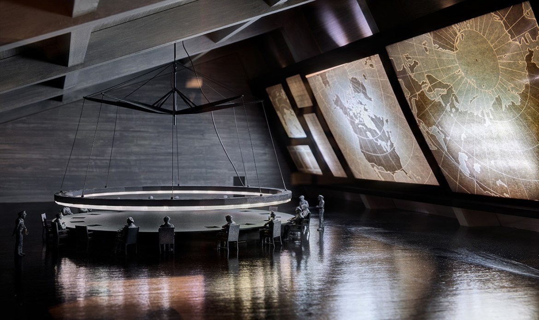 Escenografía para Teatralizaciones en Museos