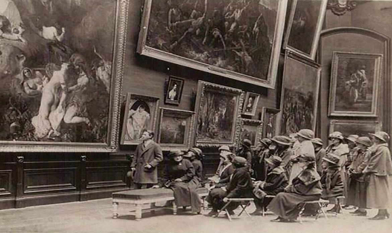 Breve Historia Sobre Estudios de Visitantes de Museos