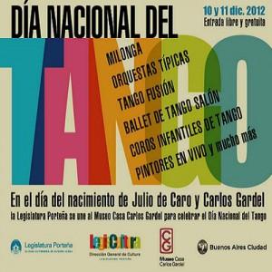 11 décembre, journée nationale du Tango