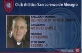 Pape Francois San Lorenzo de Almagro