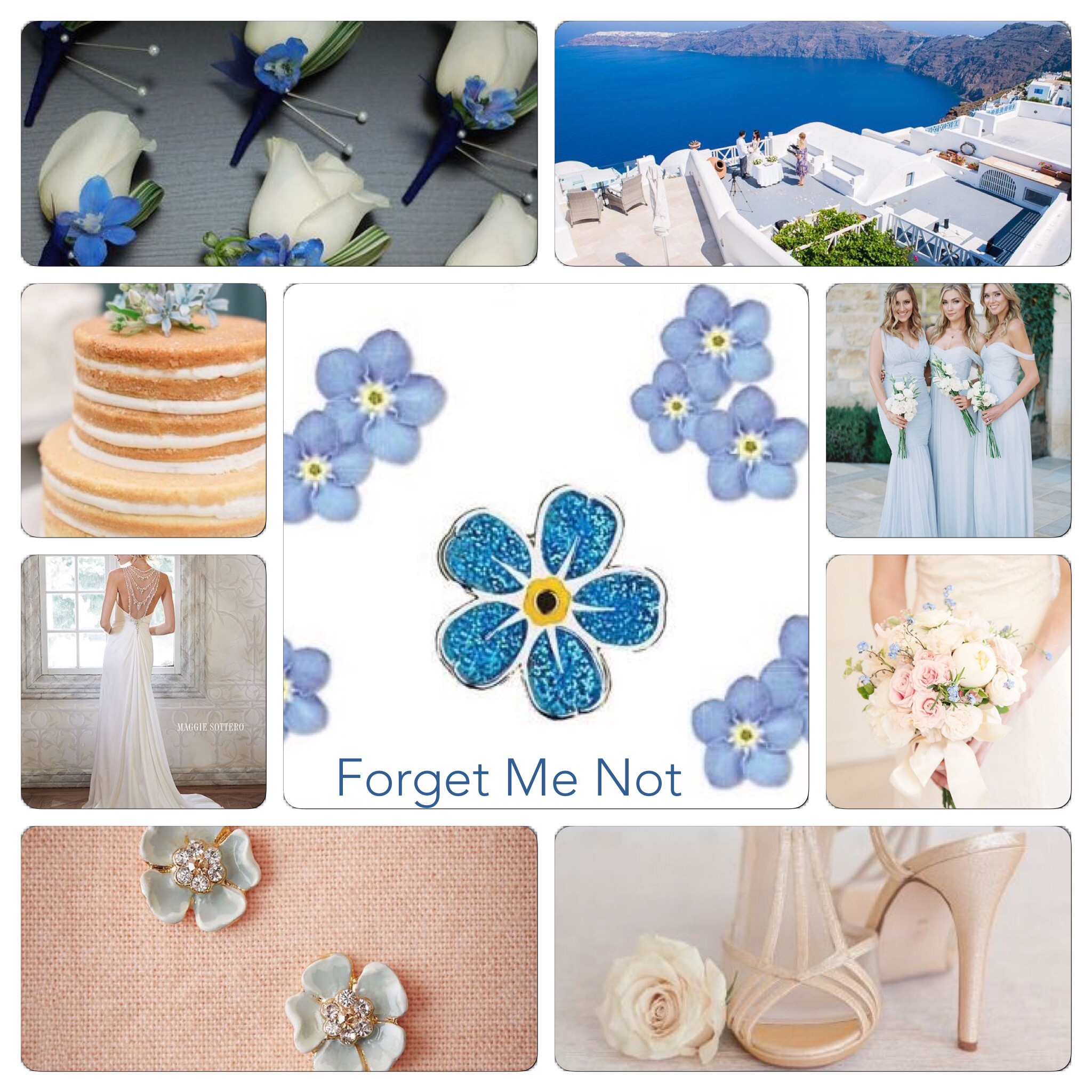 Forget Me Nots Wedding Wedding Ideas