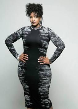 Davinnia - Black Dress