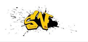Graffitied image of Sergio Vilas