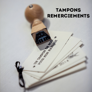 tampon mariage remerciements