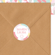 sticker-mariage-geometrique-pastel