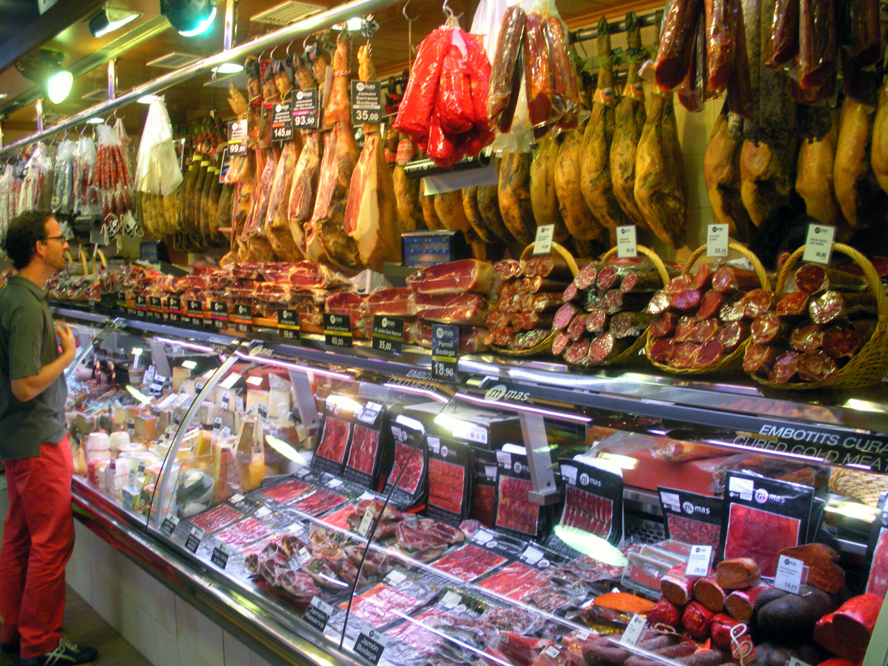Mercado de La Boqueria, Barcelona, Spain