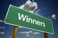 bigstockphoto_Winners_Road_Sign_3531026