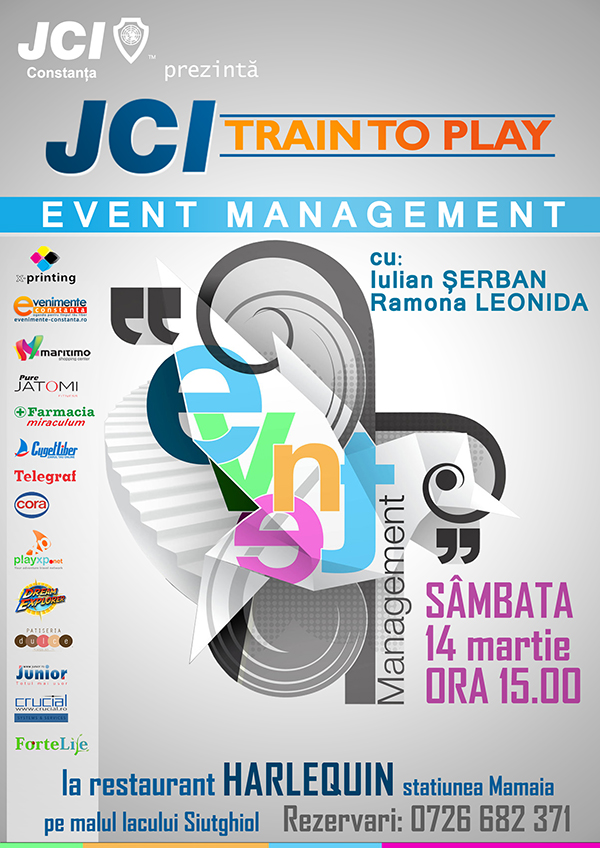 Jci Train To Play Training De Event Management Evenimente Constanta