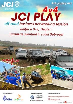 Afis JCIPlay Mai2015 parteneri WEB