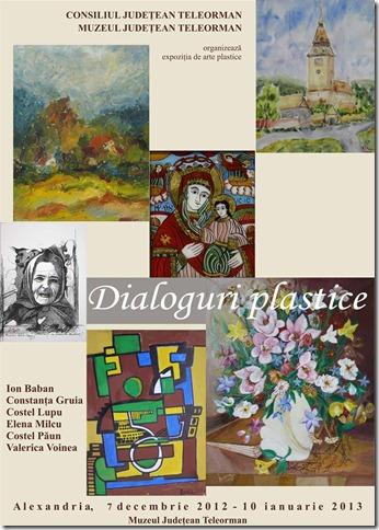 Afis Dialoguri Plastice