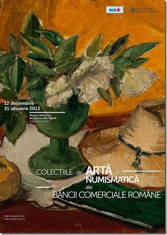 AFIS_Expo_Colectiile de Arta si Numismatica_BCR_MNIR_2012