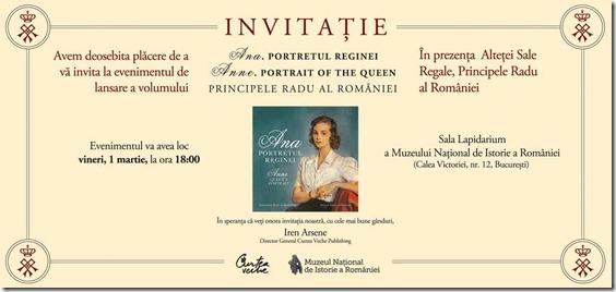 Invitatie_lansare_Ana_Portretul_Reginei