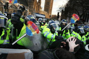 police riot