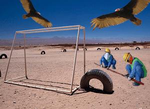 desert football
