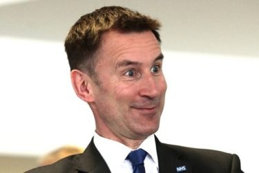 Image result for jeremy hunt looking daft